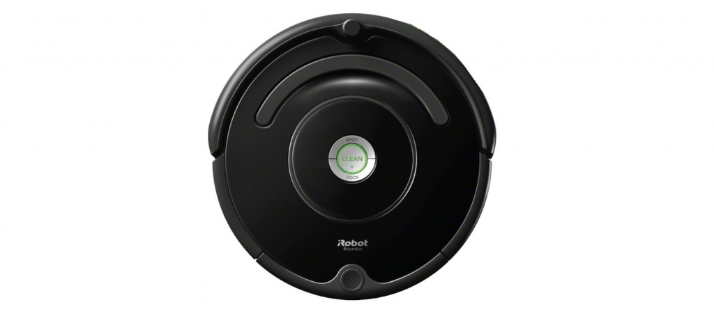 An isometric image of Roomba 675.