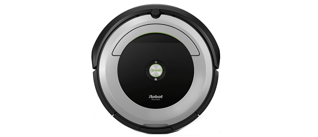 An isometric image of Roomba 690.