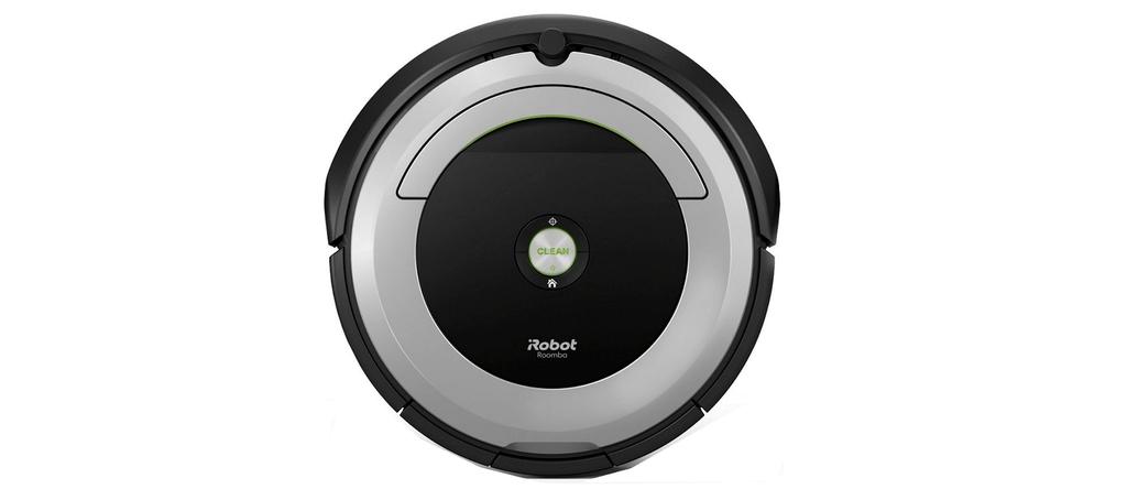 An isometric image of Roomba 690.