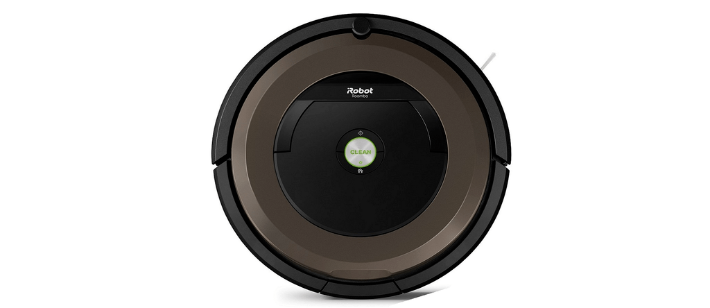 The Roomba 890 Robot Vacuum.