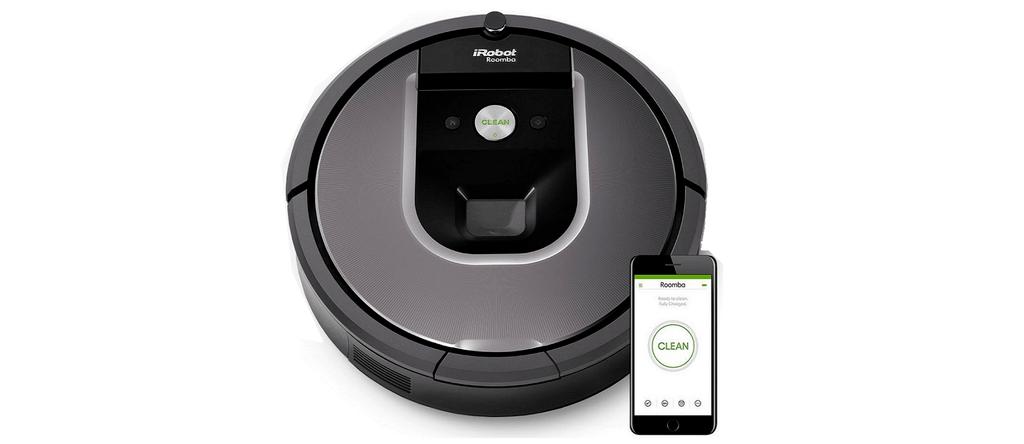 The Roomba 960 Robot Vacuum.
