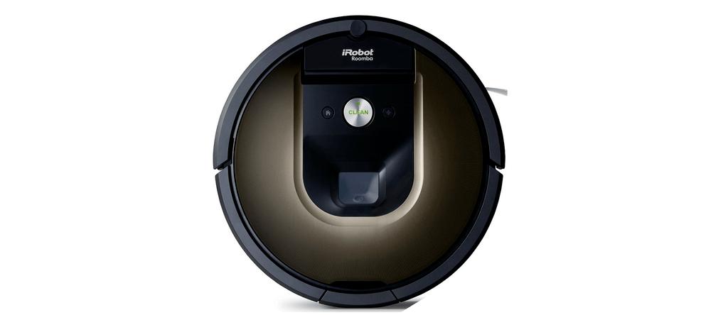 The Roomba 980 Robot Vacuum.